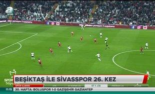 Beşiktaş ile Sivas 26. kez