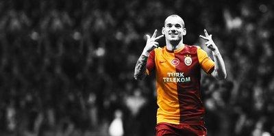 Sneijder'den Galatasaray itirafı