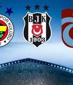 UEFA'dan Beşiktaş, Trabzonspor ve Fenerbahçe kararı!