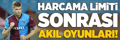 Trabzonspor'da akıl oyunları!