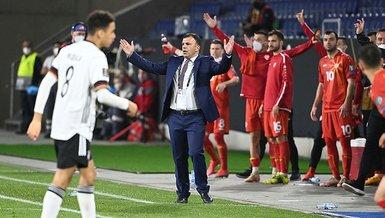 """Son dakika spor haberi: Kuzey Makedonya'nın hocası Angelovski'den Türkiye'ye övgü! """"Oyununu gördükten sonra..."""""""