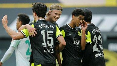 Borussia Dortmund Werder Bremen 4-1 (MAÇ SONUCU - ÖZET)