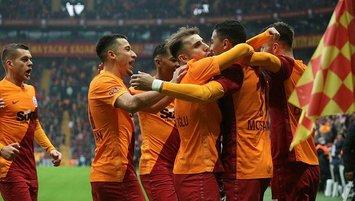 Galatasaray'dan NEF ile ilk galibiyet