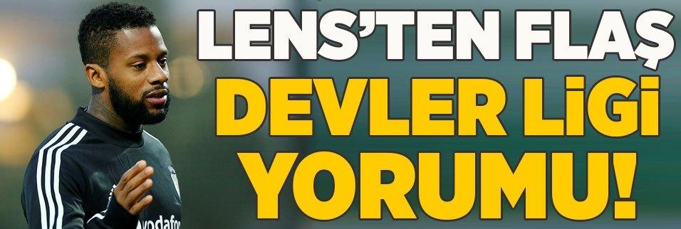 jeremain lens sampiyonlar ligine gitmeliyiz 1597345779605 - Son dakika: Jeremain Lens'ten Beşiktaş'a ihtarname!