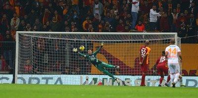 MAÇ SONUCU Galatasaray 1-0 Aytemiz Alanyaspor