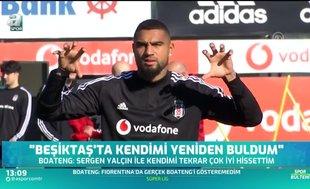 "Boateng'den flaş itiraf! ""Beşiktaş'ta..."""