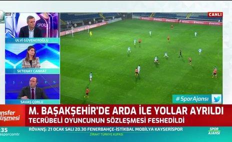 Başakşehir'de Arda Turan ile yollar ayrıldı