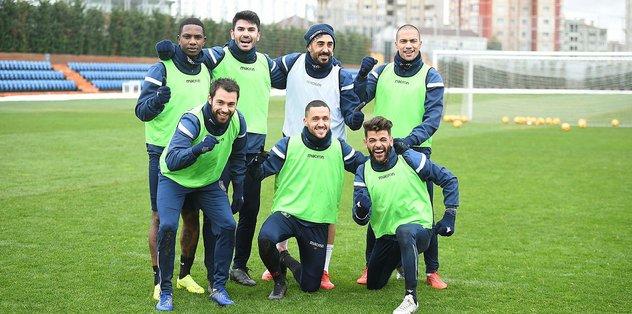 Başakşehir Yeni Malatyaspor maçı hazırlıklarına başladı