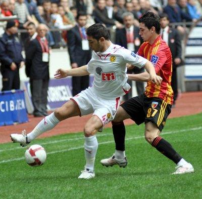 Kayserispor - Eskişehirspor (TSL 25. hafta maçı)