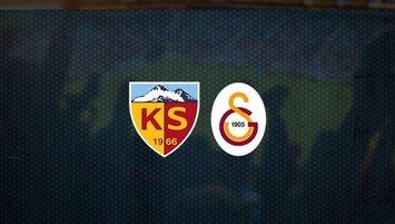 Kayserispor Galatasaray maçının bilet fiyatları belli oldu