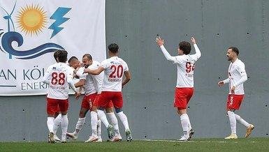 Son dakika spor haberi: 9 maçtır yenilmeyen Altınordu zirve takibini sürdürdü