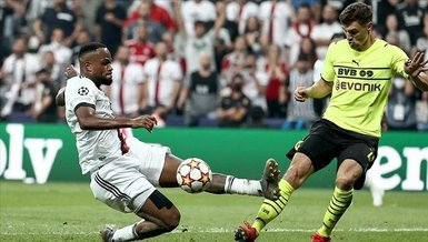 Besiktas start Champions League campaign with 2-1 loss over Dortmund