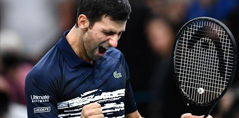 Djokovic into third round in Australian Open