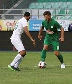 Giresunspor, hazırlık maçında Çaykur Rizespor'u 1-0 yendi