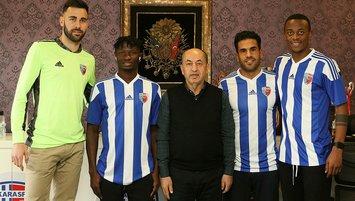 Ankaraspor'dan 4 transfer! Real Madrid...