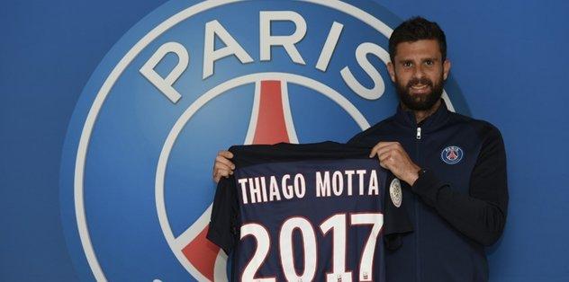 Motta, 1 yıl daha PSG'de