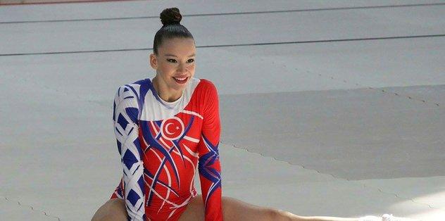Gaziemir cimnastik şölenine hazır