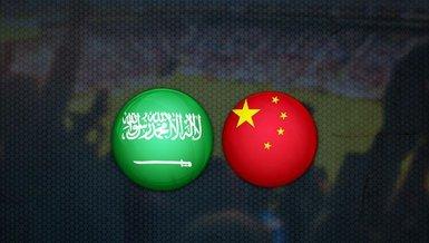 Suudi Arabistan - Çin maçı ne zaman? Saat kaçta? Hangi kanalda canlı yayınlanacak?   Dünya Kupası Elemeleri