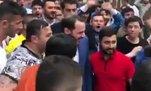 Bakan Albayrak'a Trabzon'da sevgi seli