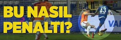 Galatasaray'ın penaltı isyanı