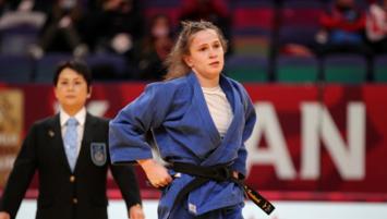 Milli judocu Gülkader Şentürk Tokyo biletini kaptı!