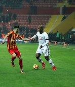 Beşiktaş'ın hücum hattı suskun