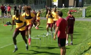 """Galatasaray'da futbolcuların işi zor: """"Haydi bravo!"""""""