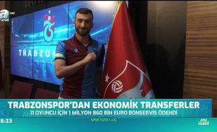 Trabzonspor'dan ekonomik transferler