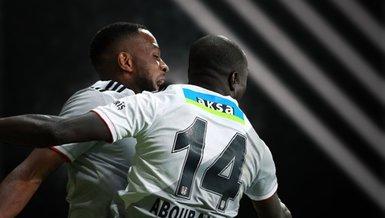 Süper ikili gollerine devam ediyor! Aboubakar & Larin...