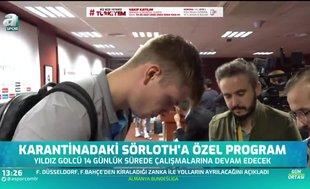 Alexander Sörloth'a özel program!