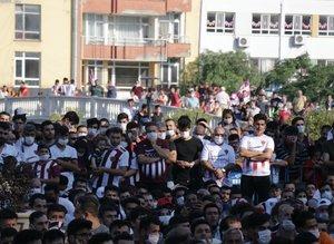 Hatayspor'un şampiyonluğu coşkuyla kutlandı