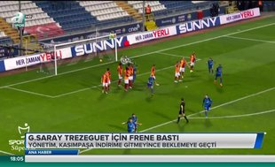 Galatasaray Trezeguet için frene bastı