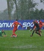 Kayserispor - Osmanlıspor maçı yarıda kaldı