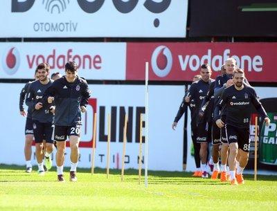 Beşiktaş, hazırlıklarına devam etti