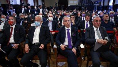 Son dakika spor haberleri: Galatasaray başkanlık seçiminde Metin Öztürk ve Abdurrahim Albayrak salondan ayrıldı