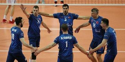 Halkbank'ın şampiyonluğa bir adımı kaldı