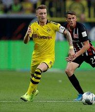 Borussia Dortmund Frankfurt deplasmanından 1 puanla döndü
