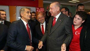 Başkan Erdoğan bugün tribünde