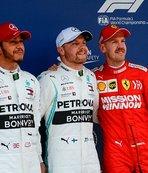 Çin'de pole pozisyonu Bottas'ın