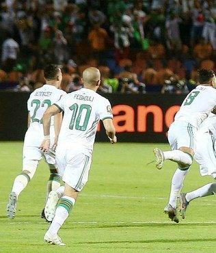 Senegal 0-1 Cezayir | MAÇ SONUCU