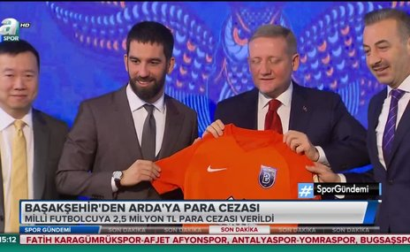Başakşehir'den Arda Turan'a ağır fatura!