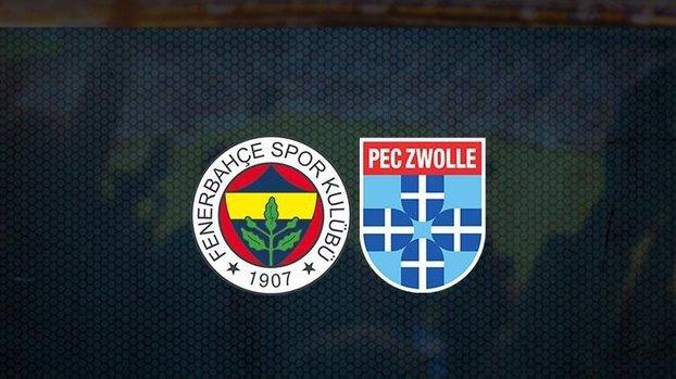 Fenerbahçe - PEC Zwolle maçı saat kaçta, hangi kanalda? (Fenerbahçe PEC Zwolle canlı izle)