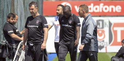 Beşiktaş'ta Aboubakar şoku