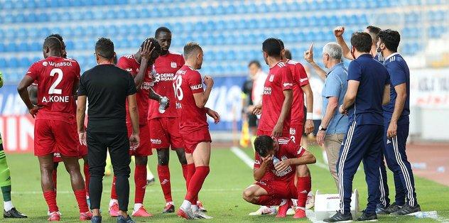 Sivasspor yine takıldı