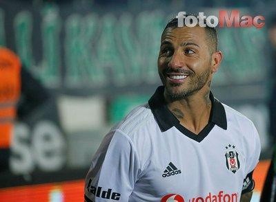 Beşiktaş'ta Quaresma ile yollar ayrılıyor!