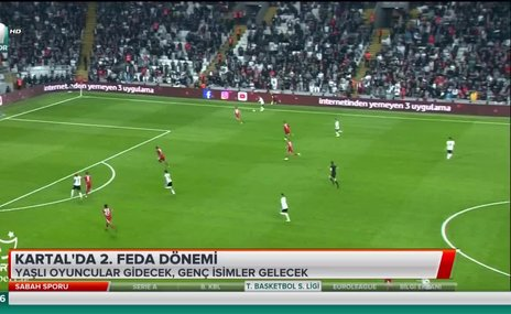 Beşiktaş'ta 2. Feda dönemi