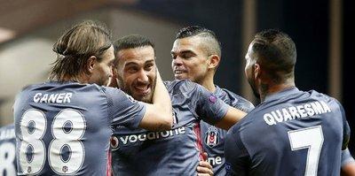 Beşiktaş, Şampiyonlar Ligi'ne damga vurdu