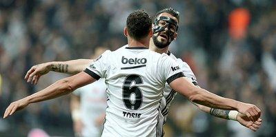 Beşiktaş'ta Tosic, Negredo'yu yakaladı