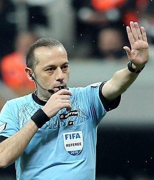 Galatasaray - Fenerbahçe derbisi için Cüneyt Çakır kararı!