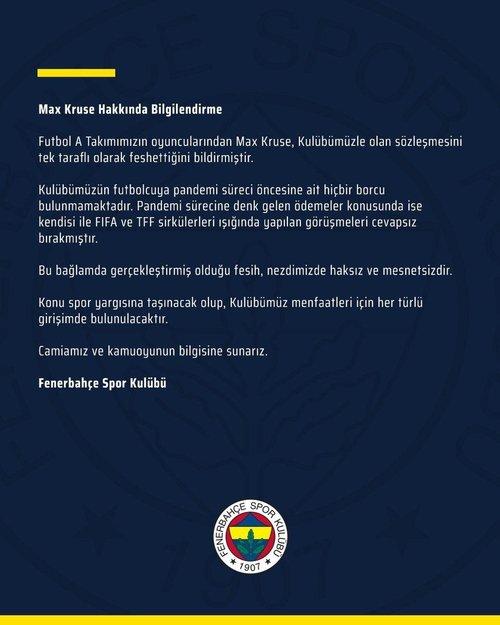 1592490996091 - Son dakika: Fenerbahçe'de Max Kruse sözleşmesini feshetti!